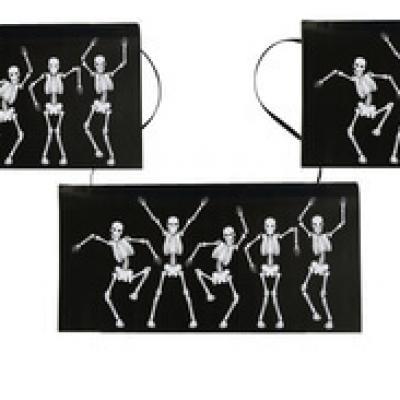 Banderole squelettes d'Halloween (x1) REF/4086