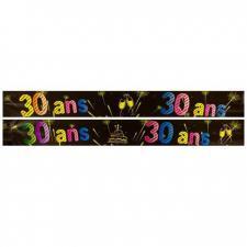 Bannière anniversaire 30ans (x1) REF/AA2008CH/30
