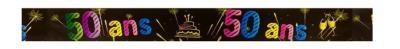 Bannière anniversaire 50ans (x1) REF/AA2008CH/50