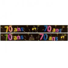 Bannière anniversaire 70ans (x1) REF/AA2008CH/70