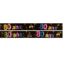 Bannière anniversaire 80ans (x1) REF/AA2008CH/80