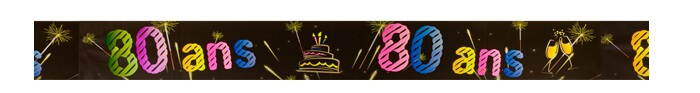 Banniere anniversaire 80ans 1
