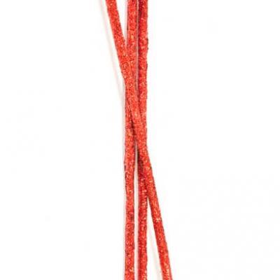 Bâtonnet pailleté rouge (x10) REF/DEC511