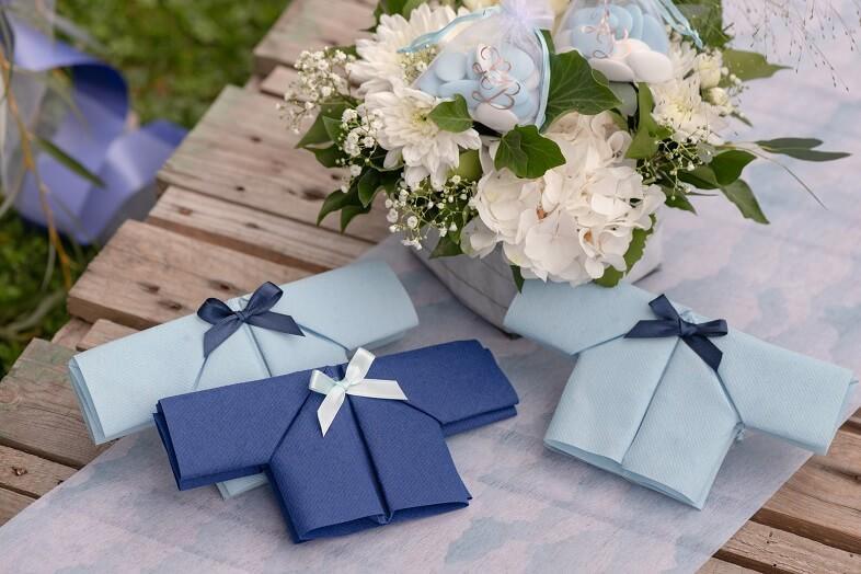 Bobine de decoration ruban satin bleu marine 6mm