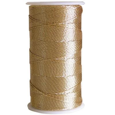 Bobine de fil métallisé or 1mm x 30m (x1) REF/22029