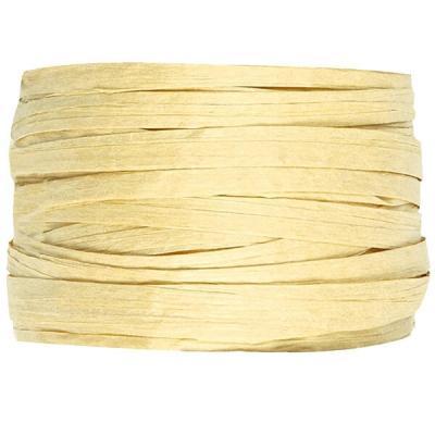 Bobine de raphia papier ivoire 4mm x 20m (x1) REF/2637