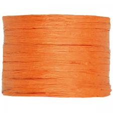 Bobine de raphia papier orange 4mm x 20m (x1) REF/2637