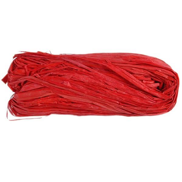 Bobine de raphia rouge