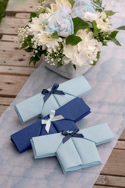 Bobine decorative ruban satin bleu marine 6mm