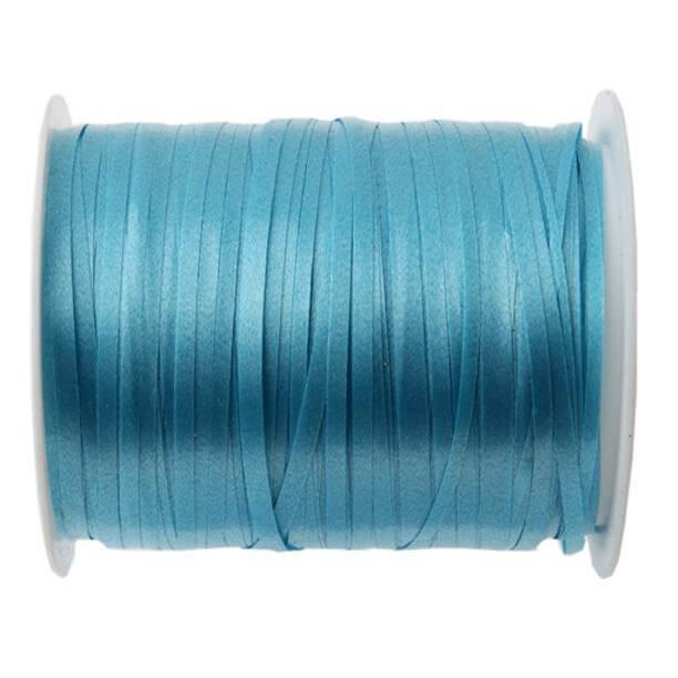 Bobine ruban bolduc bleu turquoise