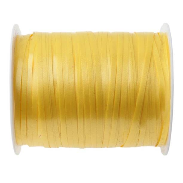 Bobine ruban bolduc jaune
