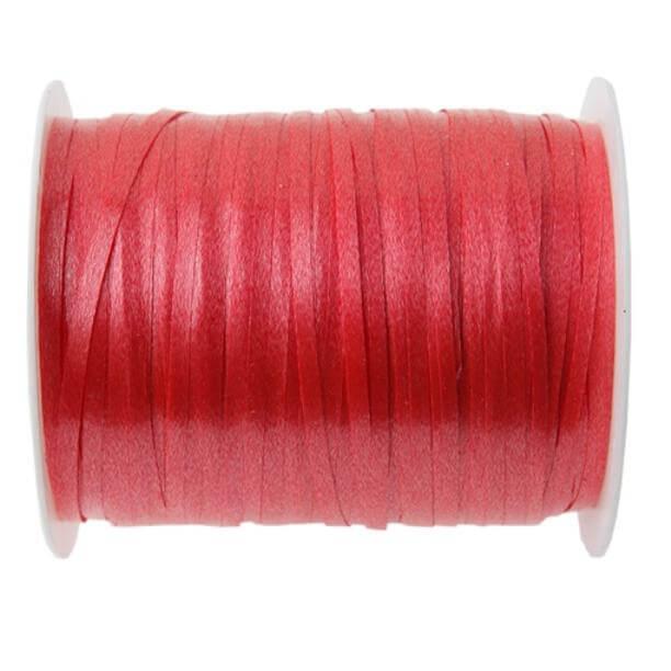 Bobine ruban bolduc rouge