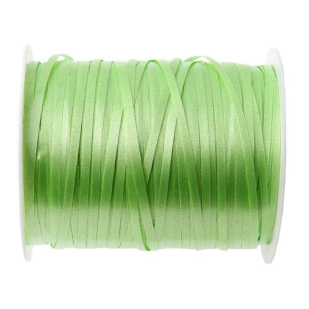 Bobine ruban bolduc vert