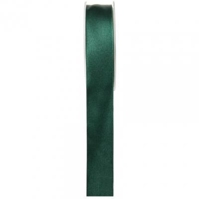 Bobine ruban satin vert sapin 6mm x 25m (x1) REF/2719