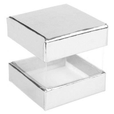 Boîte à dragée argent (x6) REF/3615