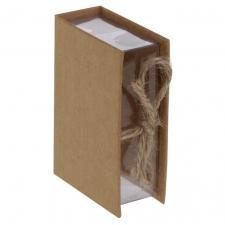 Boîte livre kraft (x4) REF/5308