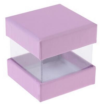 Boîte à dragée parme (x6) REF/3615