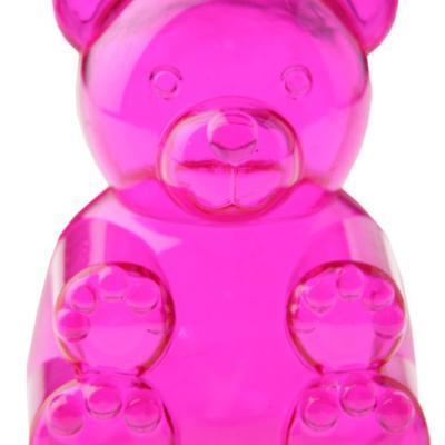 Boîte ours fuchsia (x4) REF/70021