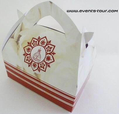Boîte à Gâteaux Oriental Mariage X10 Refvccar10