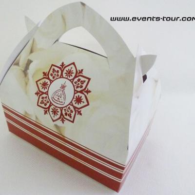 Boîte à gâteaux oriental mariage (x10) REF/VCCAR10