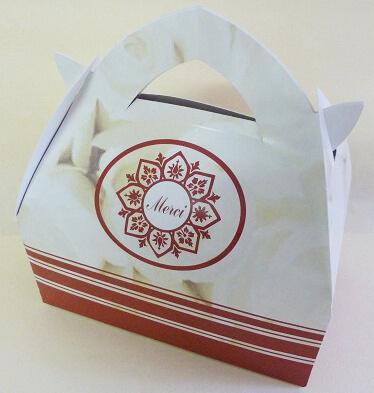 Boîte à gâteaux oriental mariage (x10) REF/VCCAR12