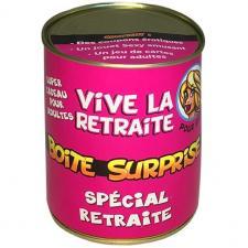 Boîte cadeau surprise retraite femme (x1) REF/BT08