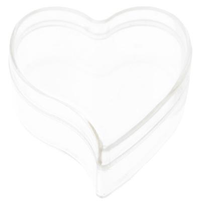 Boîte coeur transparente (x6) REF/3873