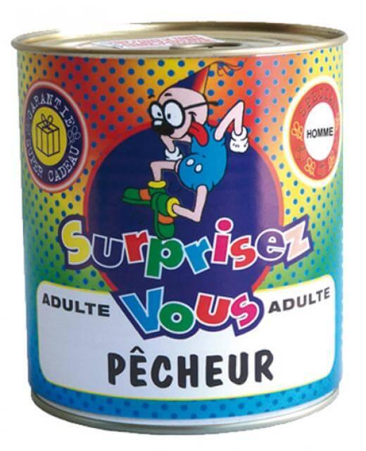 Boite surprise pecheur