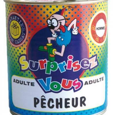 Boîte surprise pécheur homme (x1) REF/ BT12