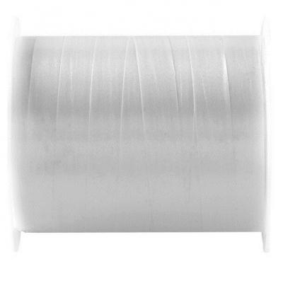 Bobine ruban bolduc blanc 7mm x 10m (x1) REF/6177