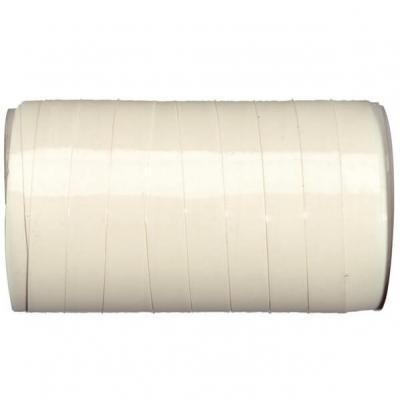 Bolduc laqué blanc, 10mm (x50m) REF/3404