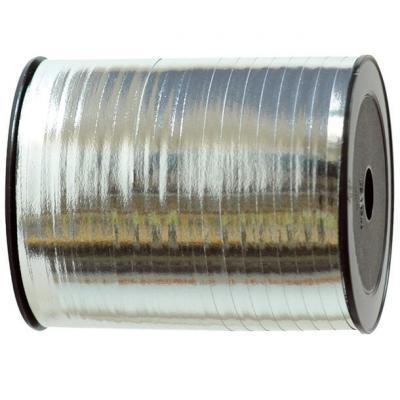 Bolduc métallique argent 7mm x 250m (x1) REF/1638