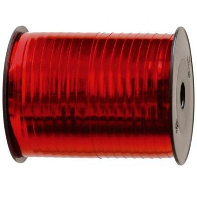 Bolduc métallique rouge 7mm x 250m (x1) REF/1638