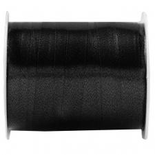 Bobine ruban bolduc noir 7mm x 10m (x1) REF/6177