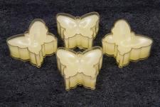 Bougie ivoire papillon (x4) REF/BG006