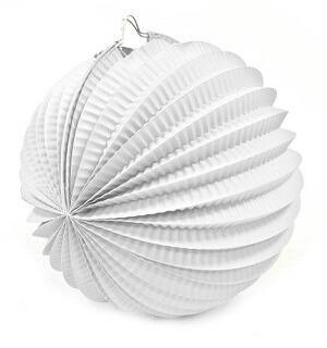 Boule blanche, 20cm (x1) REF/GUI058