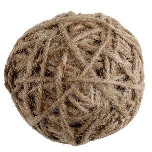 Assortiment boule corde naturelle (x10) REF/5295