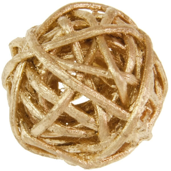Boule de rotin or decorative