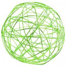Boule métallique verte (x7) REF/5328