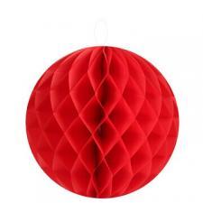 Boule décorative rouge, 10cm (x2) REF/4364