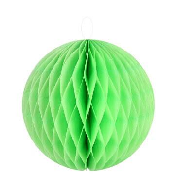 Boule decorative verte 20cm