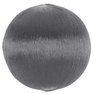 Boule fil scintillant 3cm argent