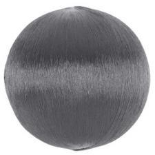 Boule fil scintillant 3cm: Argent (x12) REF/5329