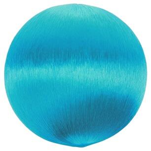 Boule fil scintillant bleu turquoise
