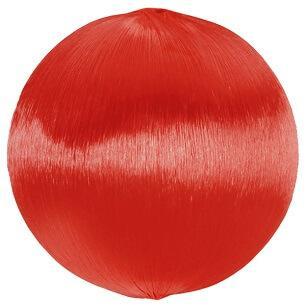 Assortiment boule fil scintillant: Rouge (x10) REF/5330
