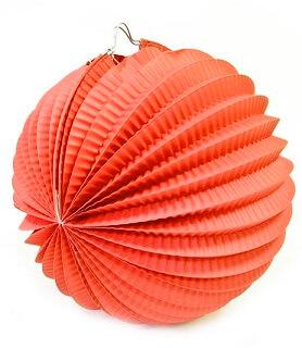 Boule rouge 20cm