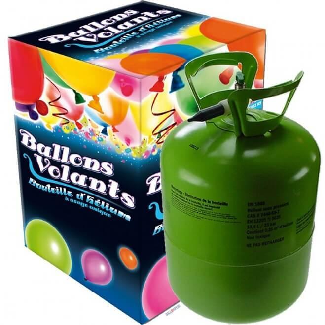 Bouteille helium pour 30 ballons 0 25m3