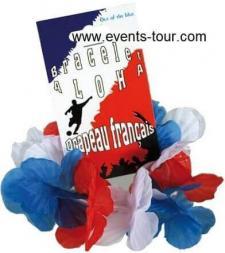 Bracelet Aloha tricolore France (x1) REF/00/0646