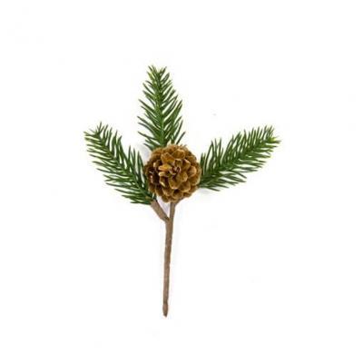Branche de sapin et de pomme de pin (x1) REF/DEC789
