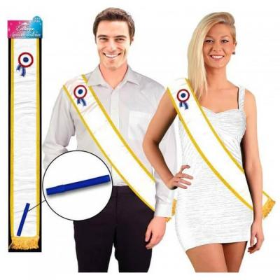 Cadeau de fête avec écharpe pour dédicace avec stylo (x1) REF/ECHV